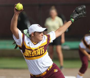 Pearl River's Rachel Hickman hurled a two-hitter in going the 11-inning distance