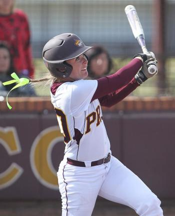 Pearl River's Hannah Holloway smashed a double and two singles