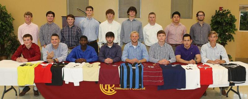 2014 Men's Soccer Signees