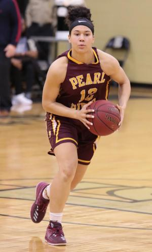 Pearl River freshman guard Gabby Brown