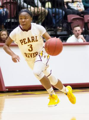 Pearl River sophomore guard Rah Franklin