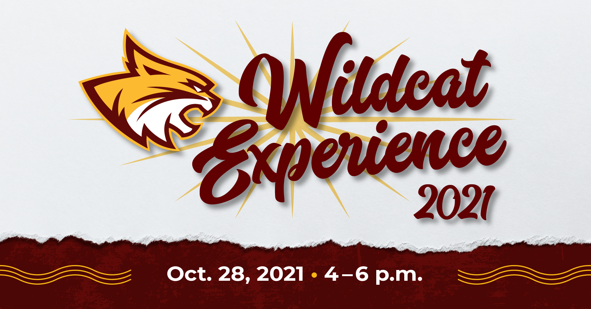 Wildcat Experience 2021 October 28 4 to 6 pm