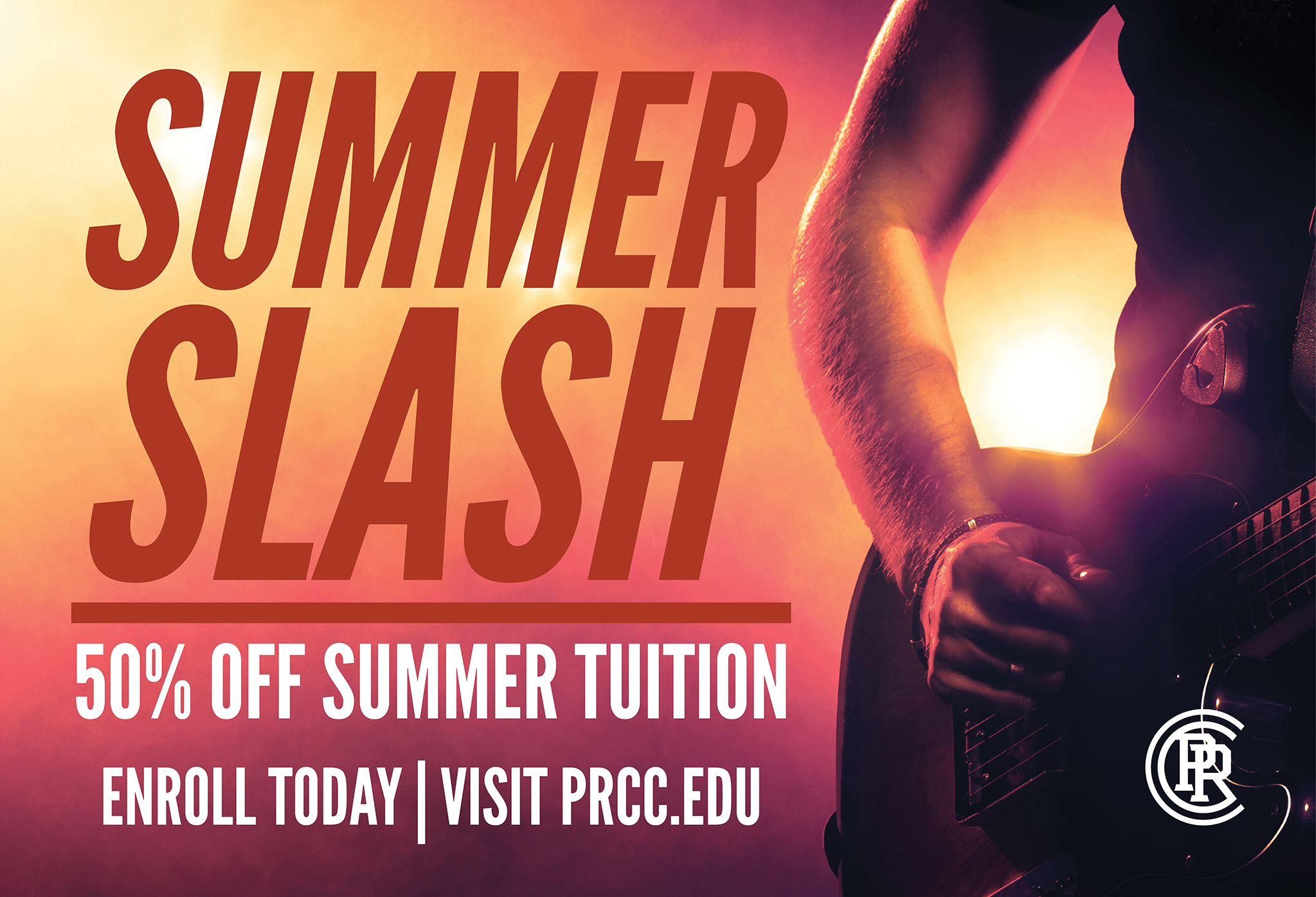 Half off Summer Tuition