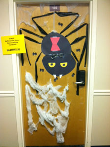 Halloween Dorm Door Decorating Contest