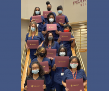 CNA graduates for September 2021 at Forrest County Campus of PRCC
