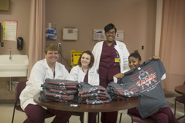 Nursing Students Work PRCC BloodDrive