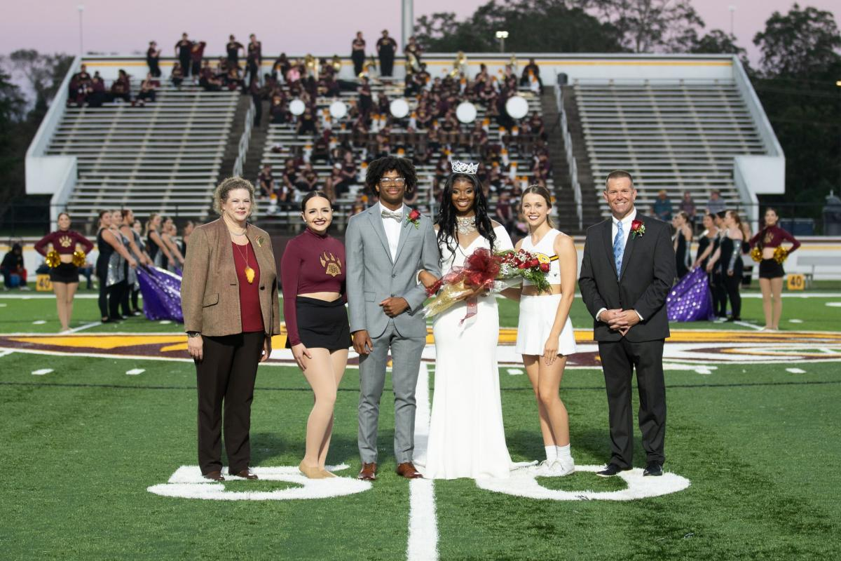 PRCC Homecoming Queen Presented after being crowned by Dr. Breerwood