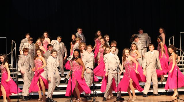The Soundsations from Petal High School were first runner-up in the Mississippi Showchoir Contest hosted by Pearl River Community College on Feb. 2.